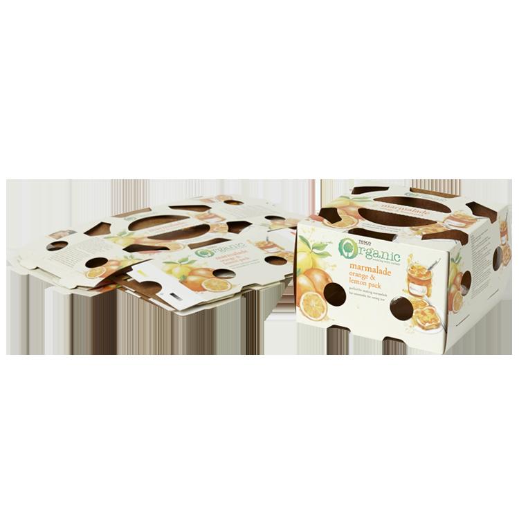 Food retail packaging