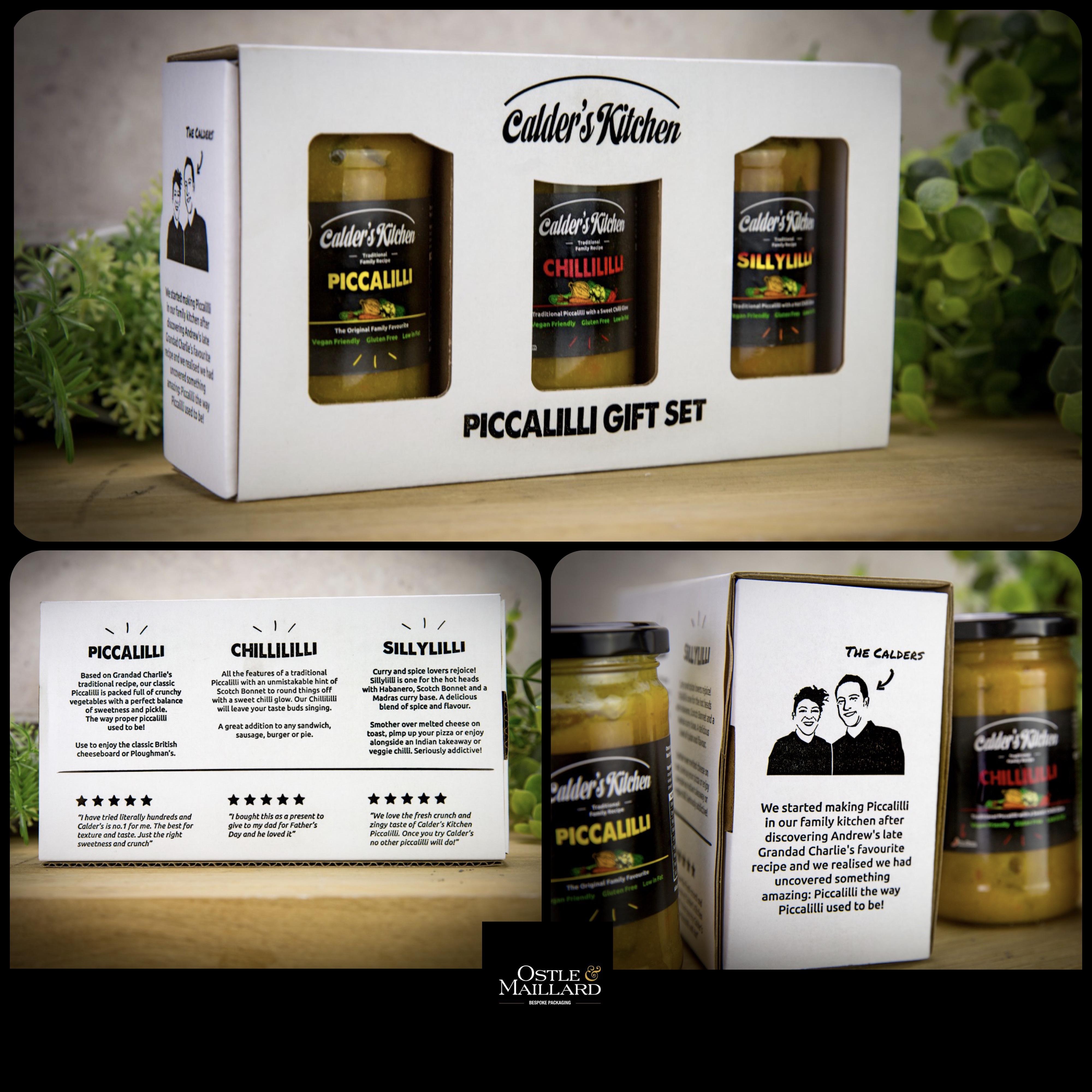 3 Jar Gift Box Set