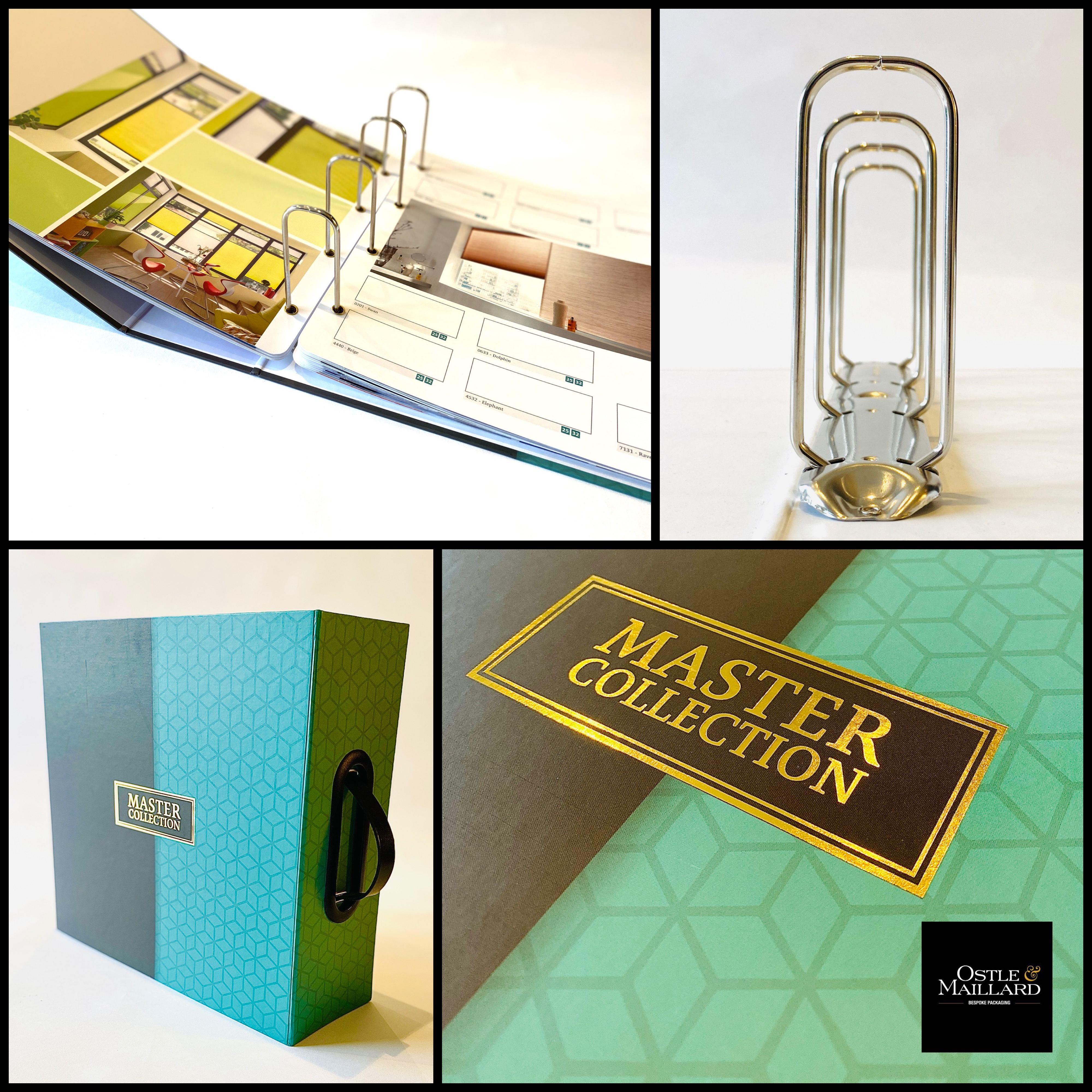custom binders bespoke binders branded binders